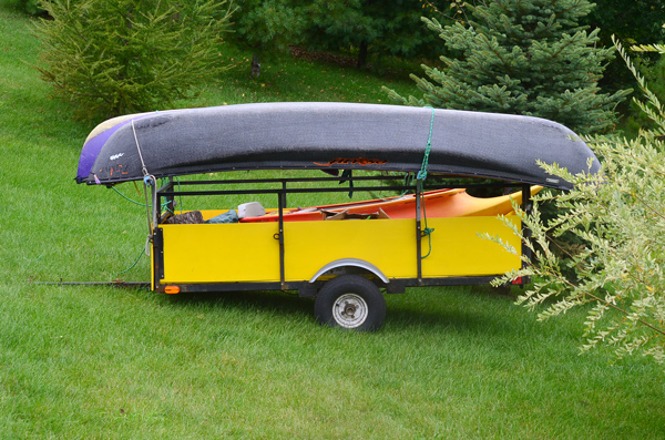 Paddlesports Repairs Trailer